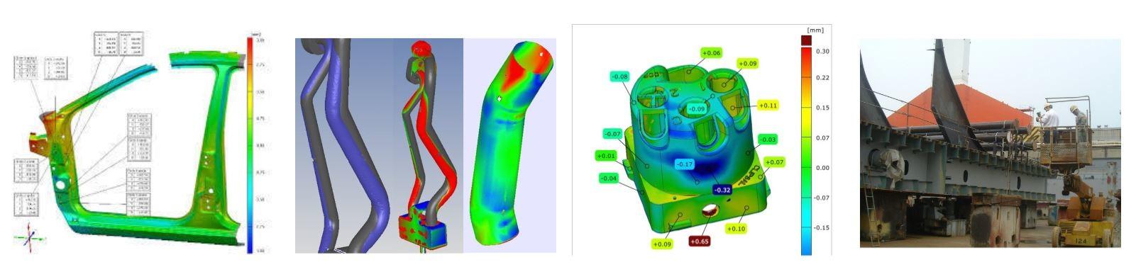 Kiểm tra 3D quang số | Dùng máy quét 3D kiểm tra kích thước, biên dạng sản phẩm độ chính xác cao. SP nhựa, ép nhựa, cơ khí, đúc, CNC. TPHCM / đo kích thước.