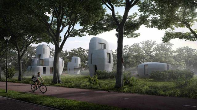 Hà Lan ứng dụng công nghệ in 3d trong việc xây cụm nhà tại thành phồ Eindhoven, Hà Lan. Công nghệ in 3d trong xây dựng dần phổ biến và giúp ích cho ...