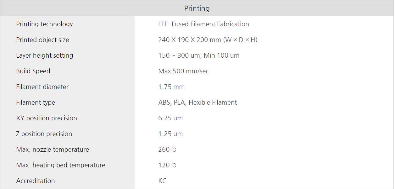 Máy in 3D Cubicon Single Plus là sản phẩm của hãng Cubicon - đến từ Hàn Quốc. Đáp ứng những nhu cầu cao nhất về tạo mẫu nhanh in 3D sản phẩm nhựa...