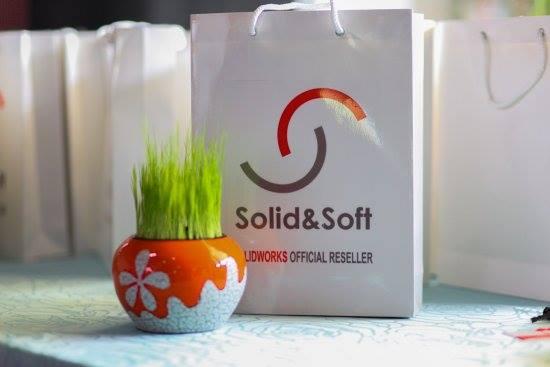 Logo nhận diện thương hiệu Solid & Soft