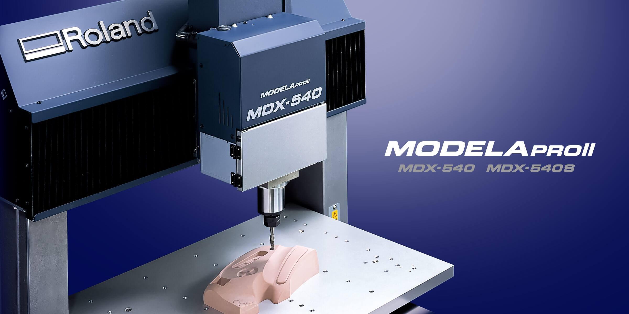 Máy phay CNC MDX-540 có khổ gia công lớn. Máy phay CNC MDX-540 được sản xuất 100% tại Nhật Bản bởi hãng Roland, được sử dụng gia công trên toàn thế giới.