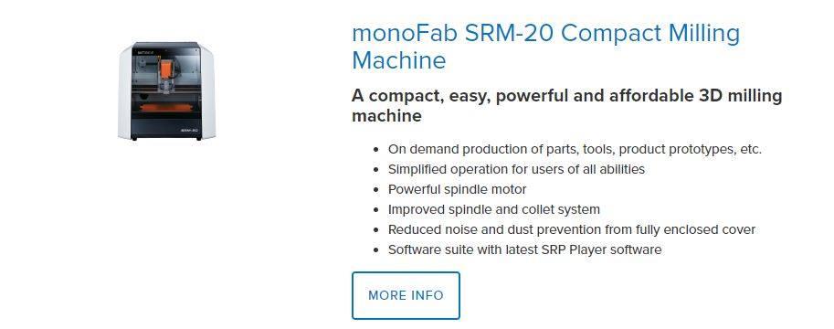 Máy CNC Roland được sản xuất tại Nhật Bản. Gồm nhiều dạng máy CNC: máy CNC mini 3 trục, máy chạy bo mạch, máy CNC Mini 4 trục, máy CNC dạng lớn...