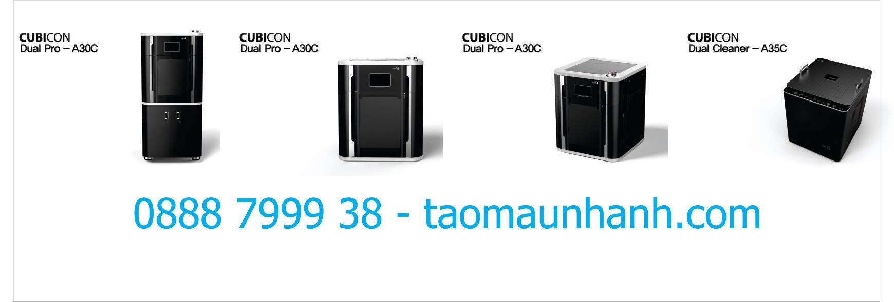 Máy in 3D Cubicon Dual Pro là dòng máy in 3D công nghiệp có khổ in 300* 300* 300 (mm) của hãng máy in Cubicon đến từ Hàn Quốc. Với bước tiến đột phá từ máy in 3D mini đến máy in 3D công nghiệp; Cubicon Dual Pro đang tạo một làn sóng tại Hàn Quốc và các nước Châu Âu - Hoa Kỳ.