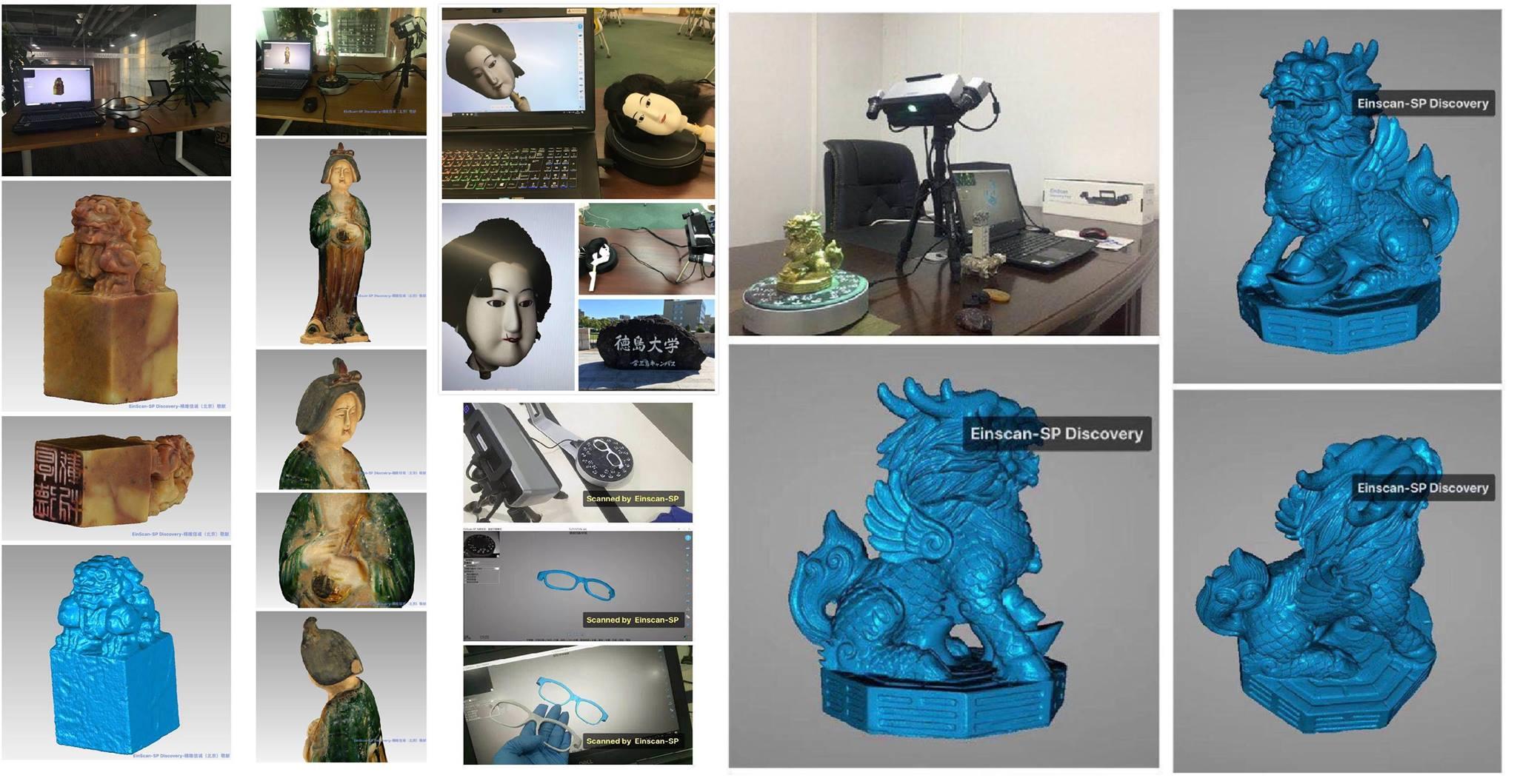 Máy quét 3D (Máy scan 3D) đơn giản-dễ sử dụng - giá tốt có thể mua ngay. Được gọi là dòng máy quét 3D Einscan SP. Máy cố định, độ phân giải 1.3 Mp...