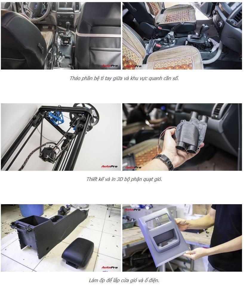 Anh Chiến, Giám đốc công ty LEDtech, chia sẻ việc dùng máy in 3D độ điều hòa sau ô tô giá 3,5 triệu đồng. Nhờ có máy in 3d mà công việc chia sẻ...