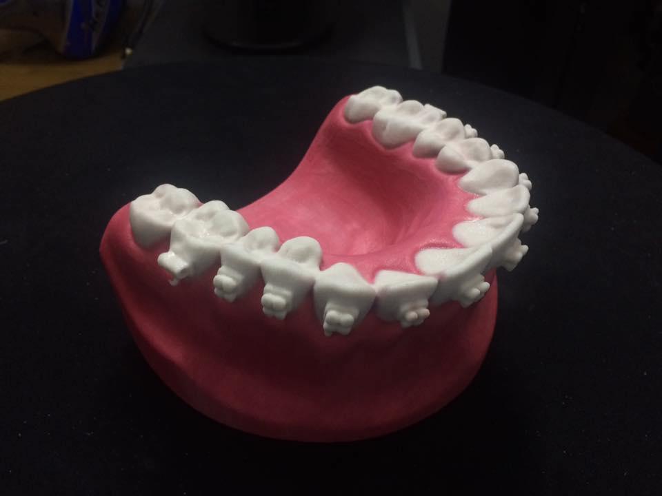 Tạo mẫu nhanh mẫu đào tạo ngành nha khoa đa sắc màu nhờ công nghệ in 3D đa sắc màu. Nhu cầu tạo mẫu nhanh cho việc đào tạo ngày càng nhiều, và ...