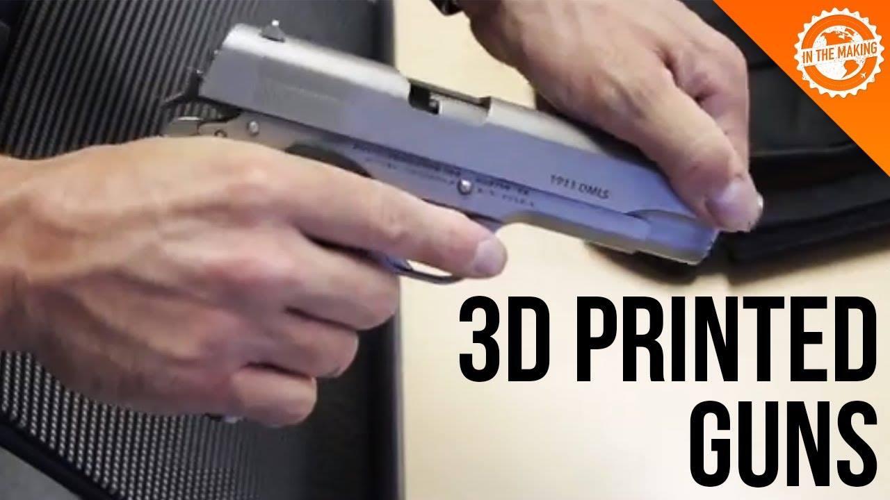 Việc thiết kế 3D súng và in 3D súng đã diễn ra rất rầm rộ ở Mỹ sau ngày 1/8/2018. Khi mà người tại Mỹ có thể tự do in 3D các khẩu súng có bản thiết kế...