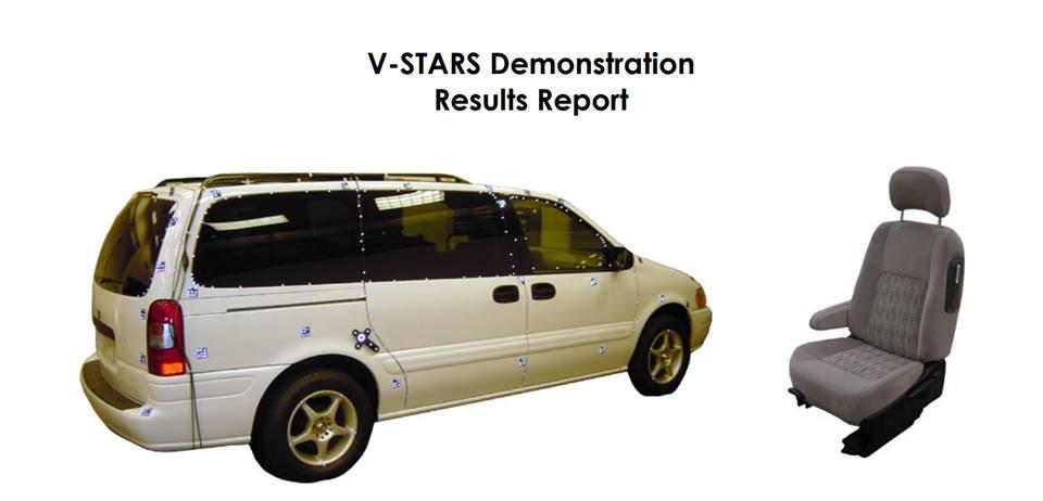 Công nghệ kiểm tra 3D trong ngành ô tô của tương lai tại hãng Geodetic Systems của Hoa Kỳ. Công nghệ kiểm tra 3DPhotogrammetry - đo kiểm 3D bằng phương pháp chụp ảnh.