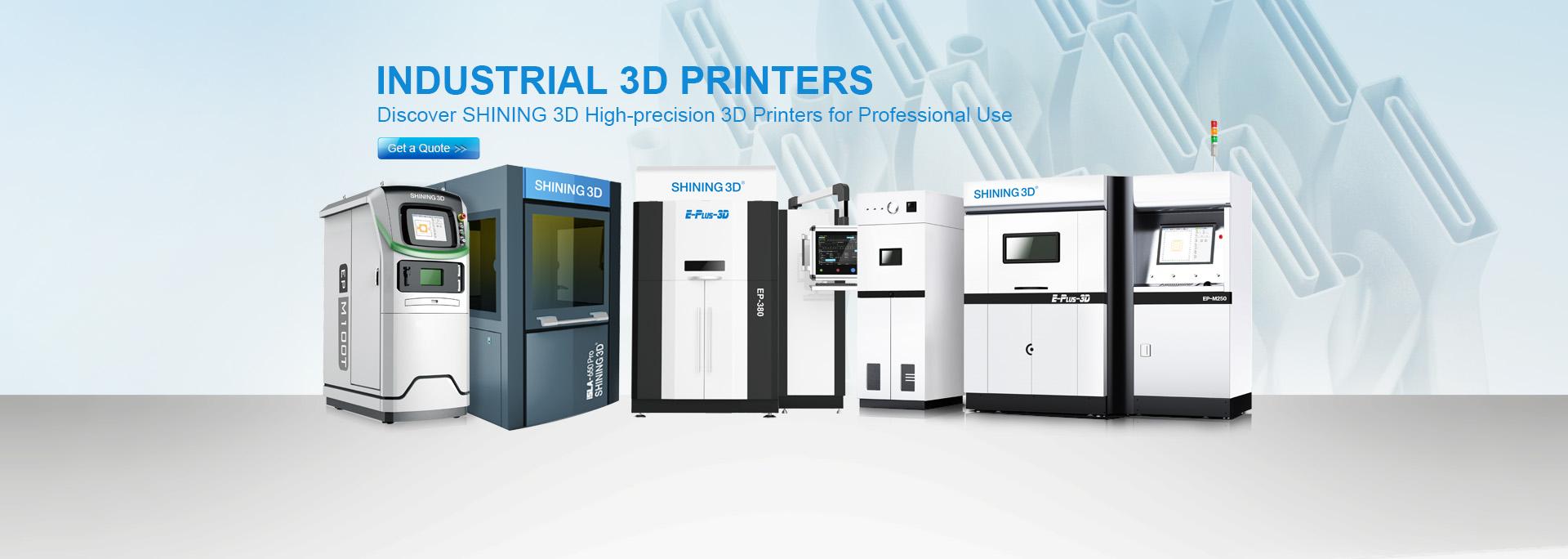 Máy in 3D công nghiệp được bán ở Việt Nam bao gồm máy in 3D FDM khổ lớn, máy in 3D SLA khổ lớn, máy in 3D kim loại (máy in 3D SLM), liên hệ báo giá ngay...