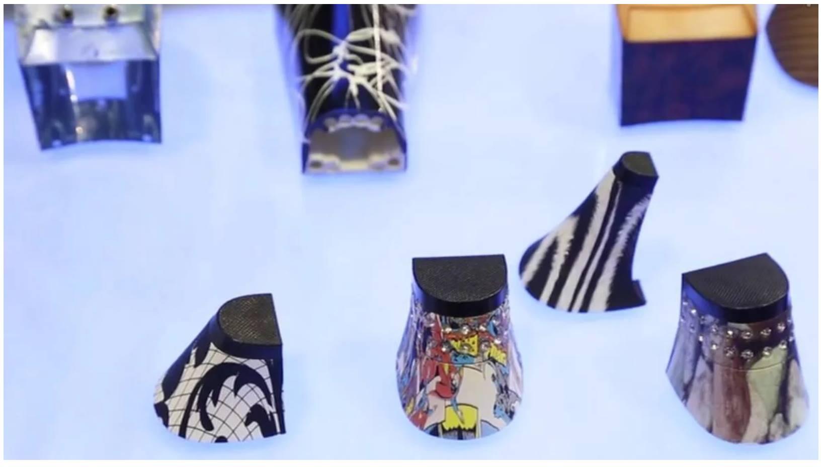 Phát triển R&D giày cao gót nhờ công nghệ quét 3d và in 3d. Sử dụng máy quét 3D Einscan Pro Plus - Industrial Pack và máy in 3d SLA để nghiên cứu việc này.
