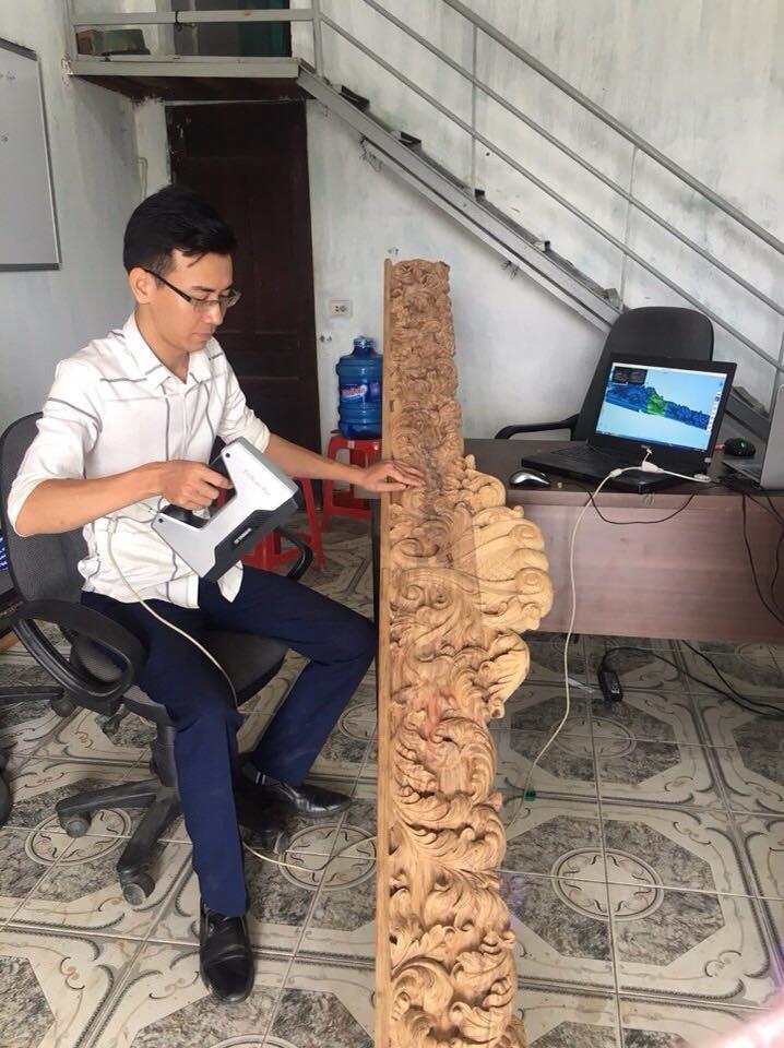 Sử dụng Máy quét 3D gỗ - Máy scan 3D gỗ sao cho hiệu quả đó là một BÀI TOÁN cho các cá nhân, doanh nghiệp đang sử dụng Máy quét 3D - Máy scan 3d trong sp gỗ