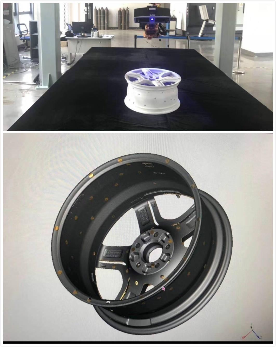Quét 3D mẫu vành xe ô tô