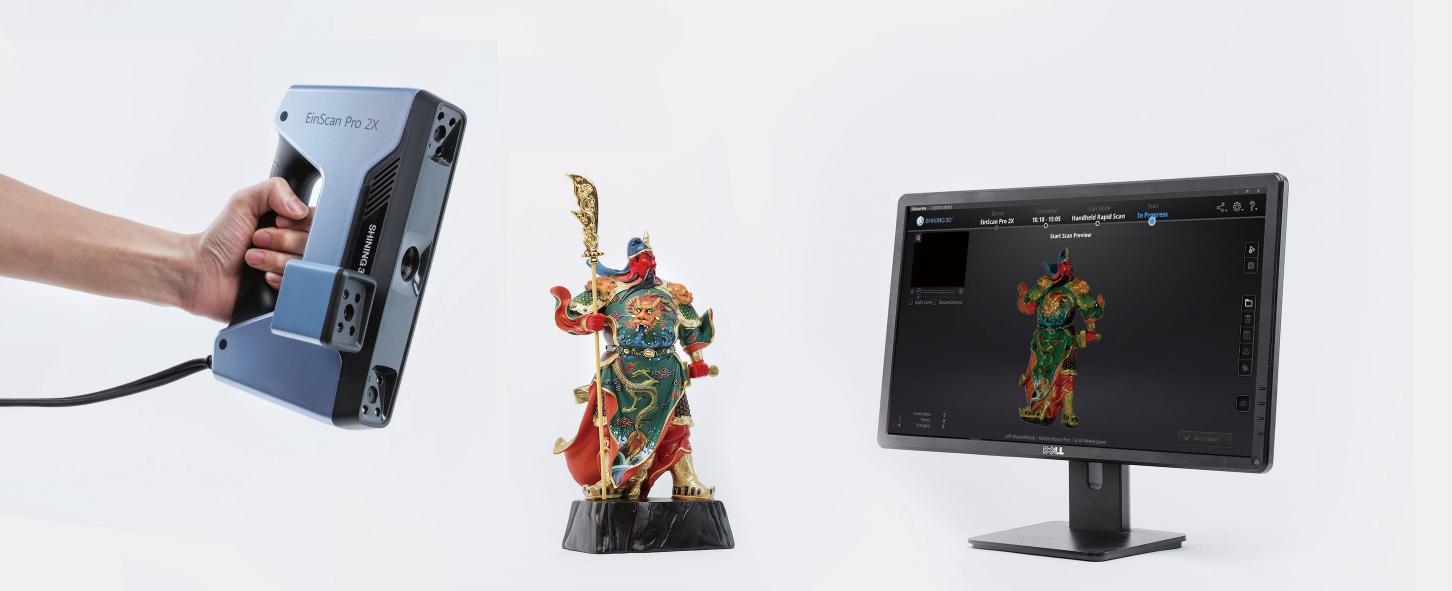 Lễ ra mắt Máy quét 3D (Máy scan 3d) tại Thành phố Hồ Chí Minh và Hà Nội. Dòng máy Einscan Pro 2X Seri được sản xuất tại Shining3D. Thị trường máy quét 3d...