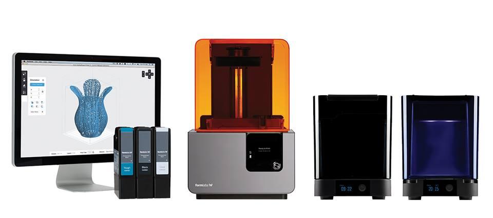 Máy in 3D Formlabs Form 2 là máy in 3D sản xuất tại Mỹ (USA). Máy in 3D Form 2 sử dụng công nghệ in 3D SLA, vật liệu in 3D Resin lỏng có thể đúc được. Ứng dụng trong nhiều ngành nghề.