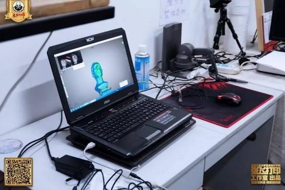 Dùng máy quét 3D để phóng size sản phẩm tượng là một ứng dụng đúng của Einscan pro 2X Plus. Đáp ứng nhu cầu thu dữ liệu 3D nhanh, độ chính xác / phân giải