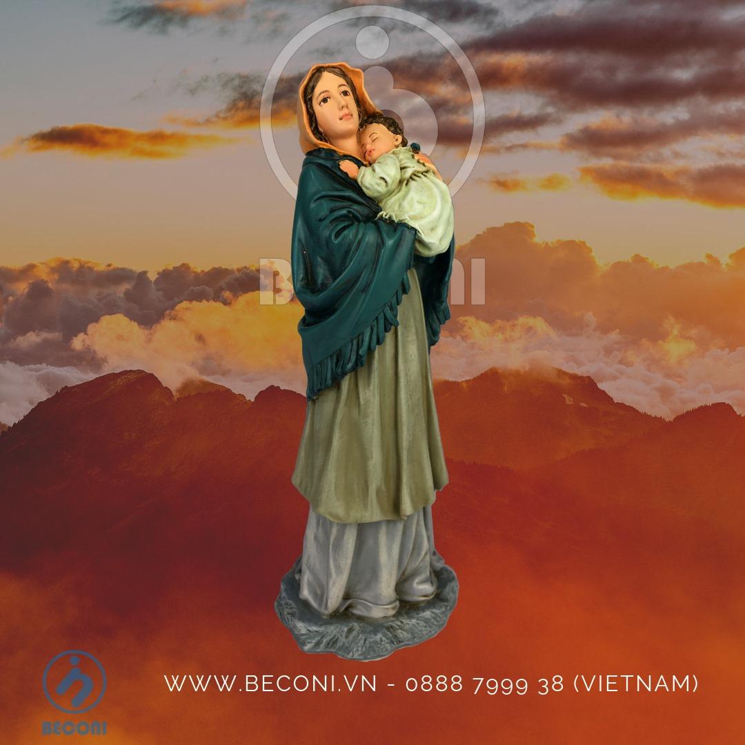 Tượng công giáo cao cấp Beconi | Tượng chúa Beconi | Tượng công giáo composite nhựa