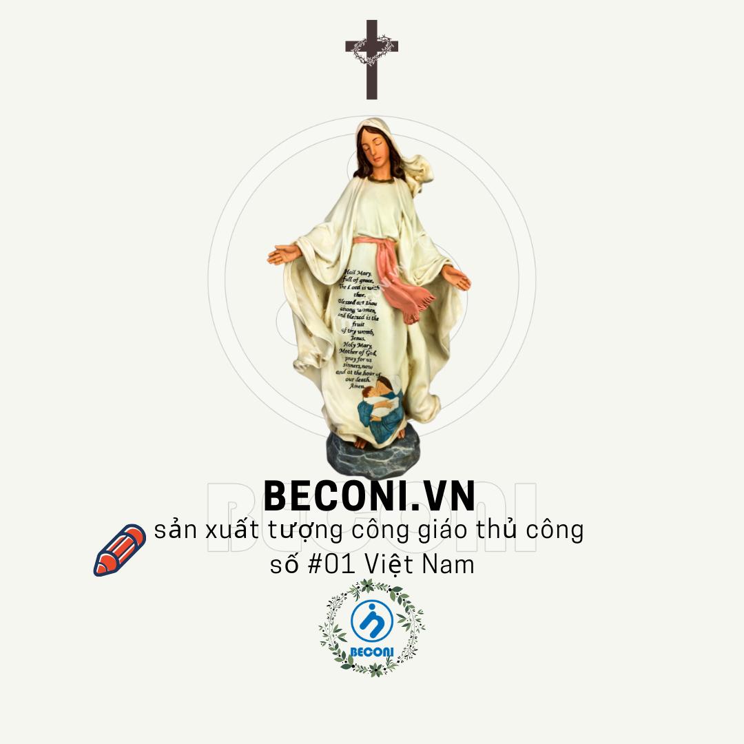 Tượng đức mẹ ban ơn cao cấp | Tượng công giáo cao cấp Beconi