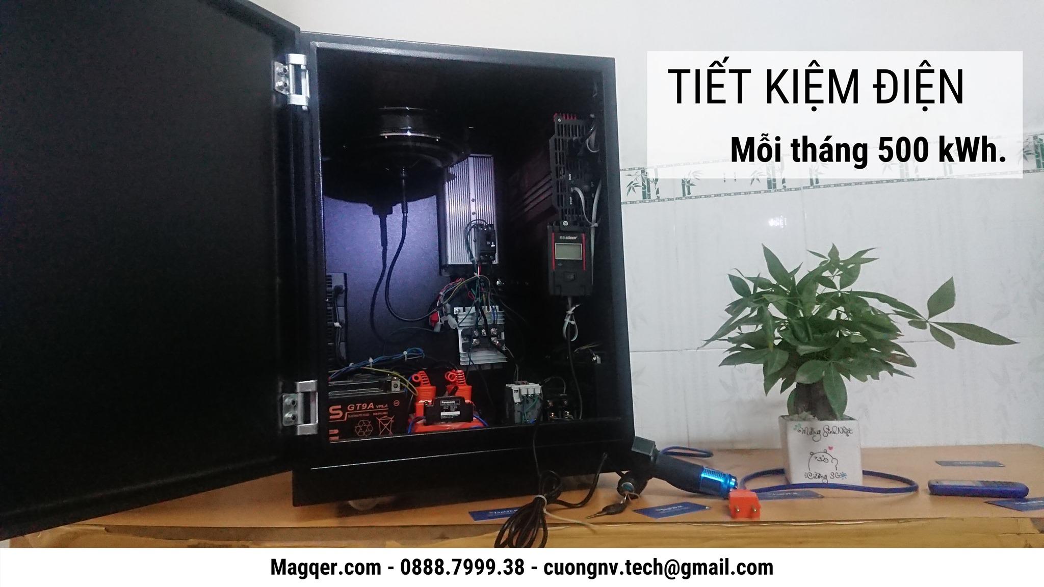 Máy sản xuất điện MagQER