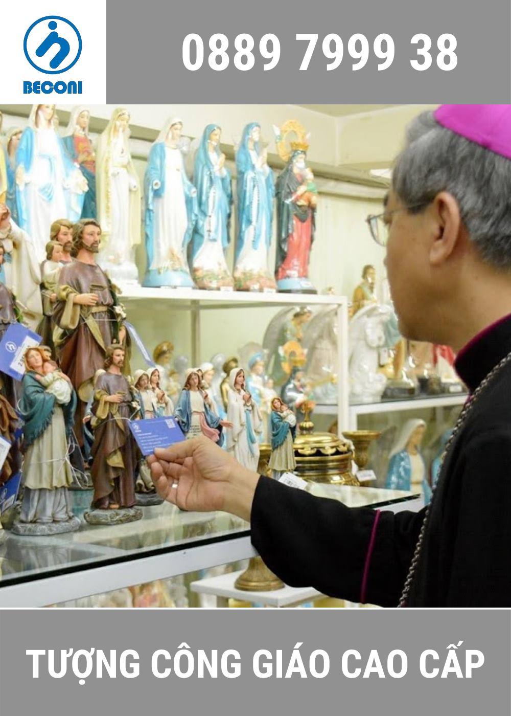 Tượng Công Giáo Beconi - Tượng Công Giáo Cổ Điển Cao Cấp